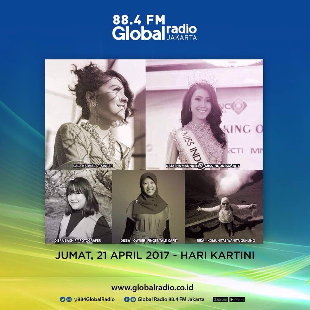 Global Radio Special Hari Kartini