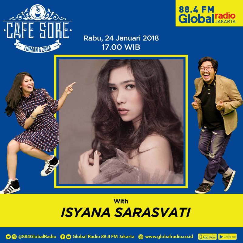 Cafe Sore with Isyana Sarasvati