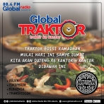 Global Traktor bersama Pizza Express