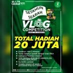 Vlog Competition berhadiah total 20 juta