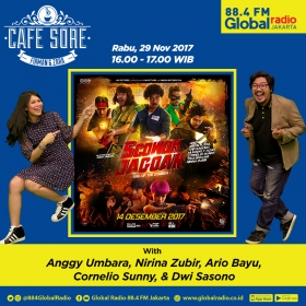 Cafe Sore with 5 Cowok Jagoan Cast