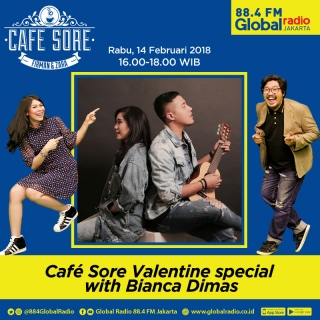 Cafe Sore Valentine Special with Bianca & Dimas