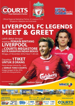 Liverpool FC Legends Meet & Greet