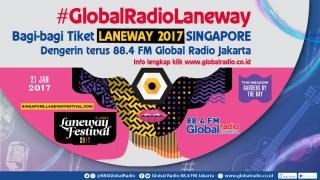 #GlobalRadioLaneway