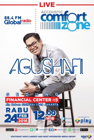 ACCOUSTIC COMFORT ZONE with Agus Hafi