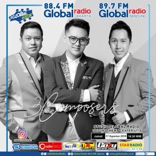 Global Kustik bersama 3 Composers