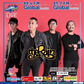 Global Kustik bersama The Rain