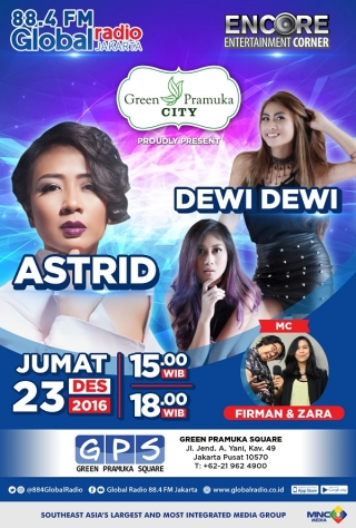 ENCORE with Astrid & Dewi Dewi