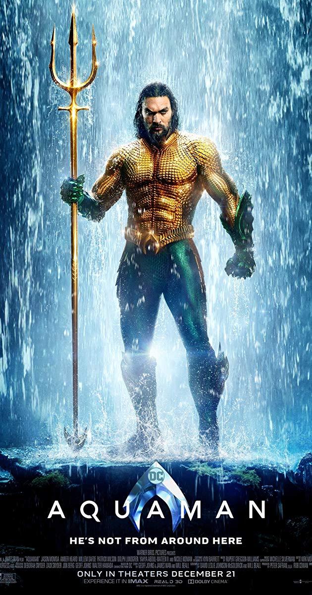 Fakta Menarik Dibalik Kostum Aquaman