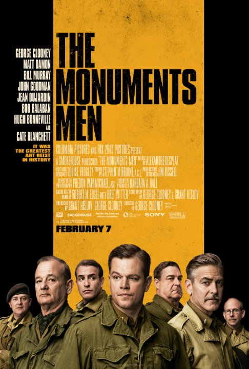 THE MONUMENTS MEN: FILM PENYELAMATAN SEJARAH