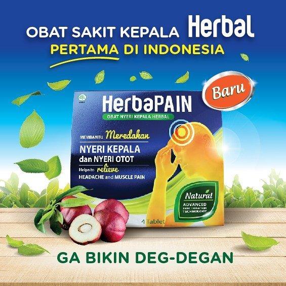 Orang Dewasa Rantan Sakit Kepala, Obat Sakit Kepala Herbal Pertama di Indonesia Diluncurkan