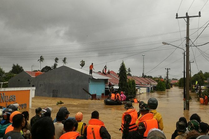 Bencana Banjir Bandang dan Longsor di Gowa