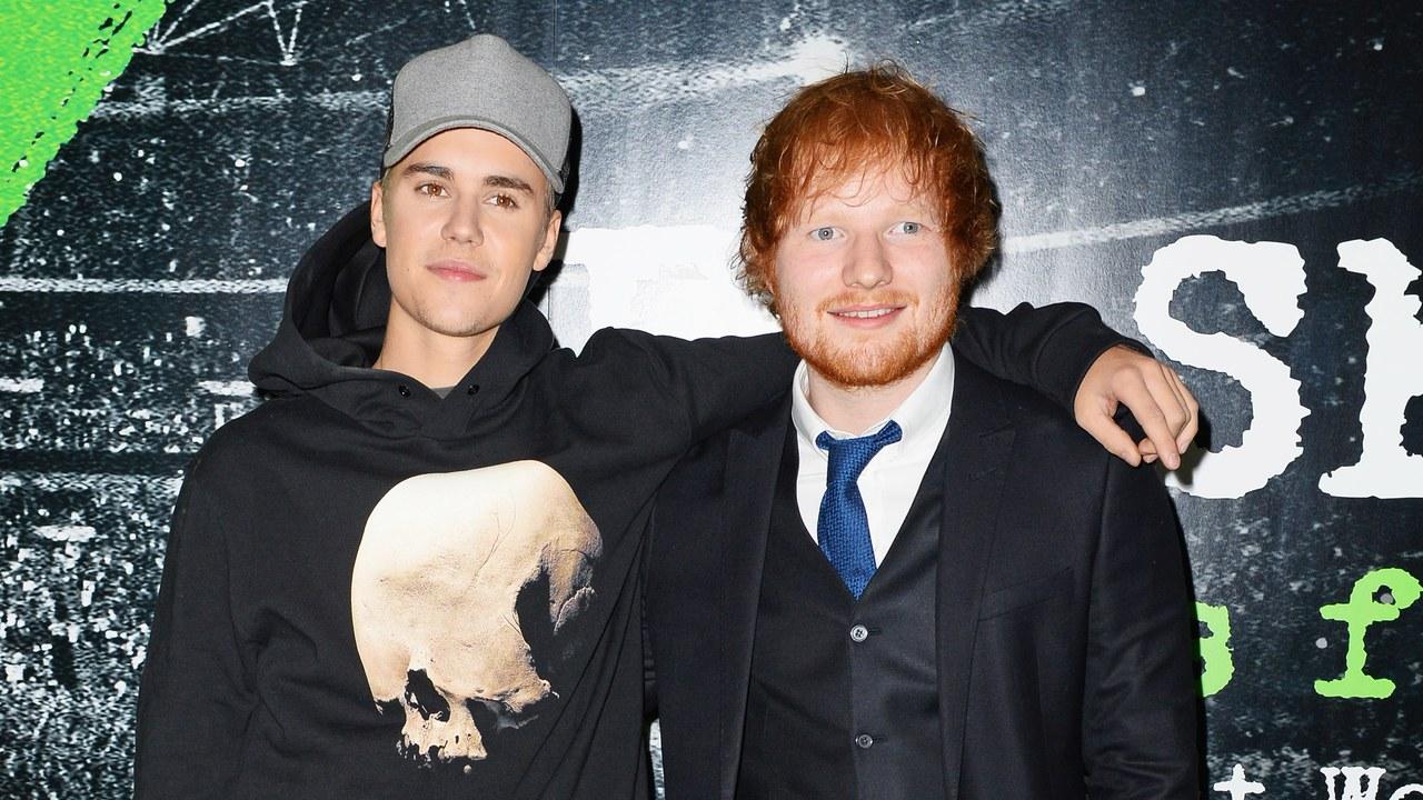 Ed Sheeran Akan Berduet Dengan Justin Bieber di Album Barunya