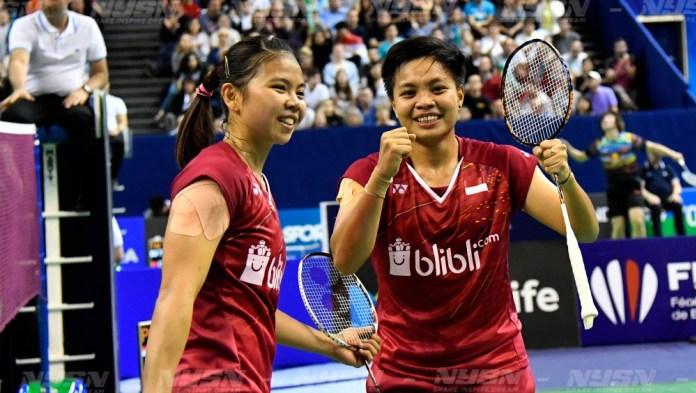 Greysia Polii/Apriyani Rahayu Juara India Terbuka 2019