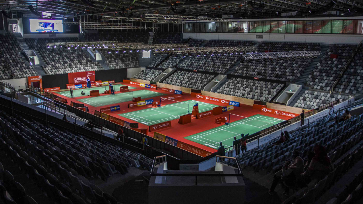 Istora Senayan Resmi Berganti Nama Menyambut Indonesia Open 2018