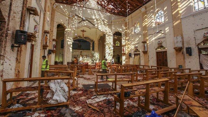 Sudah 290 Orang Tewas Akibat Bom Paskah di Sri Lanka