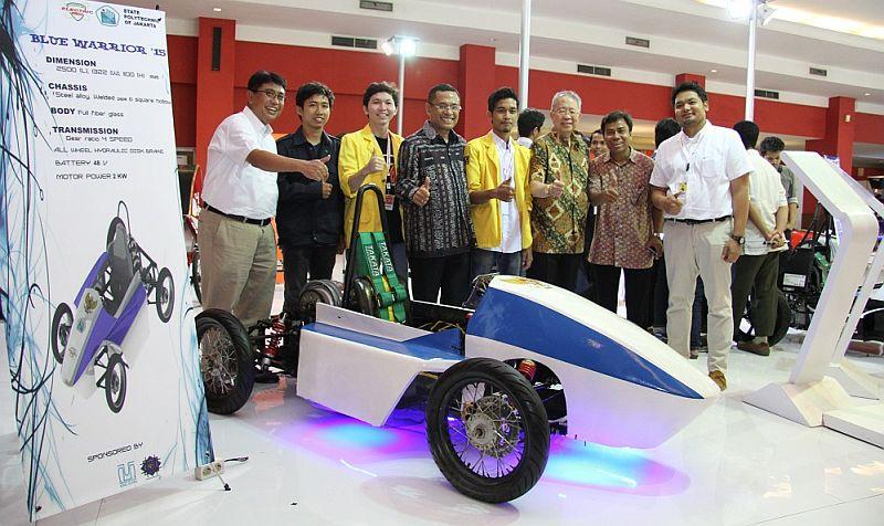 Mobil Listrik Karya Mahasiswa Indonesia di IIMS Wajib Ditengok