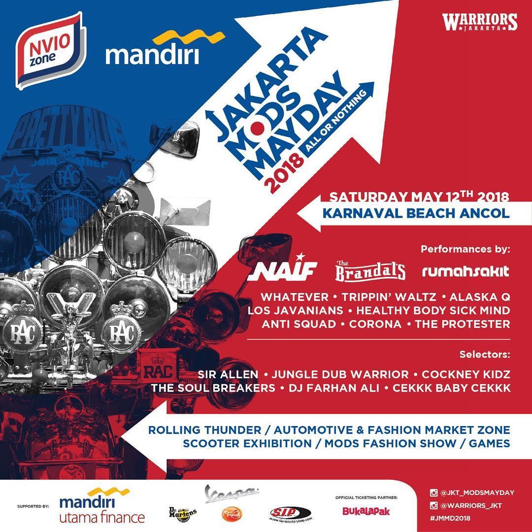 JAKARTA MODS MAYDAY 2018
