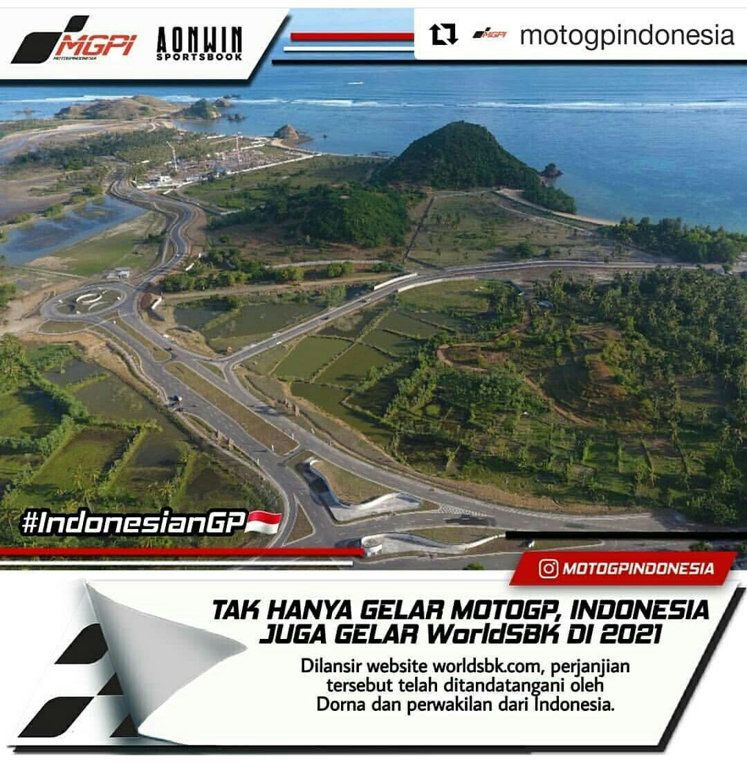 Tak Hanya Gelar MotoGP, Indonesia Juga Jadi Tuan Rumah World Superbike 2021
