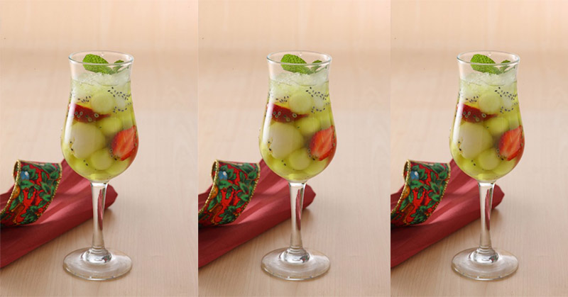 Resep Es Melon Lychee Jelly untuk Buka Puasa