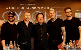 Boyzone Janji Berikan Kejutan di Konser A Night of Reunion
