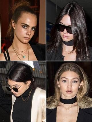 Kalung Persahabatan Ala Kendall Jenner dan Gigi Hadid Jadi Tren Aksesori 2016