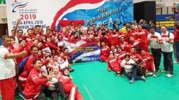 Tim karate Indonesia Meraih 8 Emas Di Kejuaraan Karate Asia Tenggara