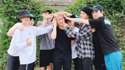 EXO Ramai-ramai Antar D.O Masuk Markas Militer