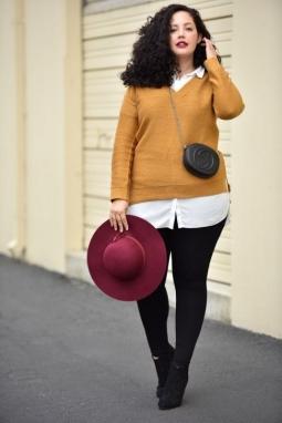 Trik Padu Padan untuk Wanita Bertubuh Subur