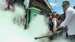 Fogging Nasional Perindo di Sibolga