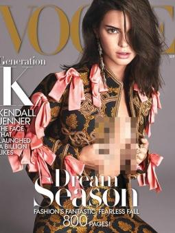 Kendall Jenner Menangis Terpilih Jadi Model Sampul Vogue Edisi Istimewa