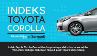 Setiap 40 Detik, 1 Unit Toyota Corolla Laku Terjual di Dunia