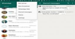 Fungsi Ikon Bintang di WhatsApp