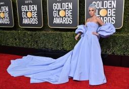 Lady Gaga Salah Satu Selebriti Berbusana Terbaik di Golden Globes 2019