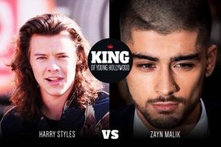 Rayakan Ultah ke-22, Harry Styles Tantang Zayn Malik Duel