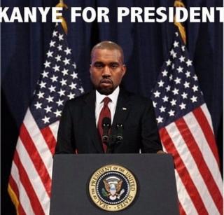 Ingin Jadi Presiden, Kanye West Malah Jadi Bahan Meme di Socmed