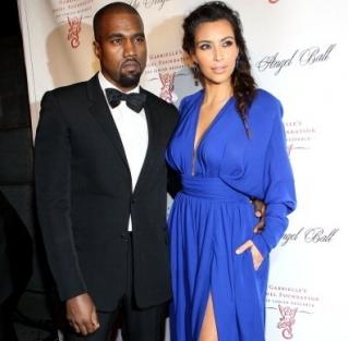 Kim Kardashian dan Kanye West Bertengkar Saat Tentukan Nama Anak Kedua