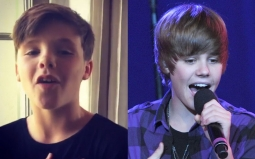 Netizen Sebut Putra David Beckham sebagai 'The Next Bieber'