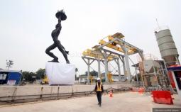 Pembangunan MRT, Empat Titik Konstruksi Diberlakukan Rekayasa Lalu Lintas