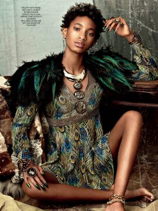 Willow Smith alih profesi jadi model