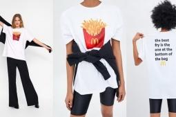Zara Rilis Fesyen Item Bertema McDonald's