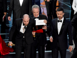 SALAH SEBUT PEMENANG BEST PICTURE OSCAR, PRODUSER LA LA LAND BELA WARREN BEATTY