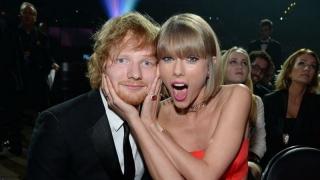 Ed Sheeran Dapat Ucapan Ultah Terpanjang dari Taylor Swift