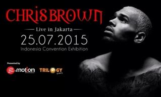 Tiket Konser Chris Brown di Jakarta Sudah Terjual 55%