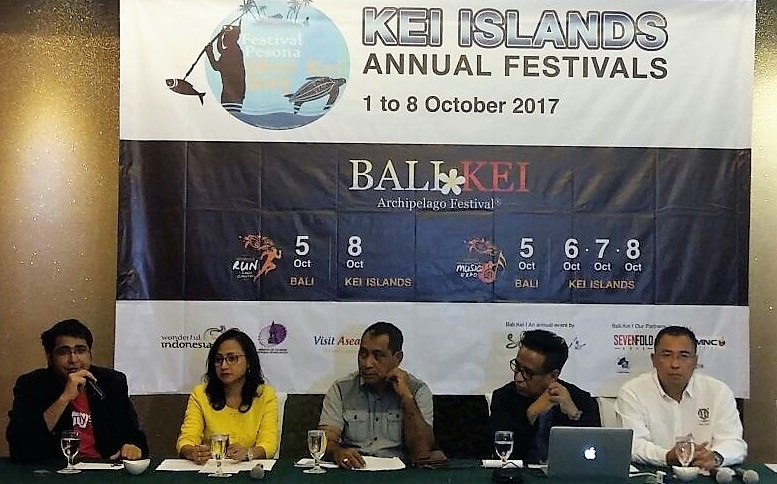 PRESS CONFERENCE BALI-KEI ARCHIPELAGO FESTIVAL 2017