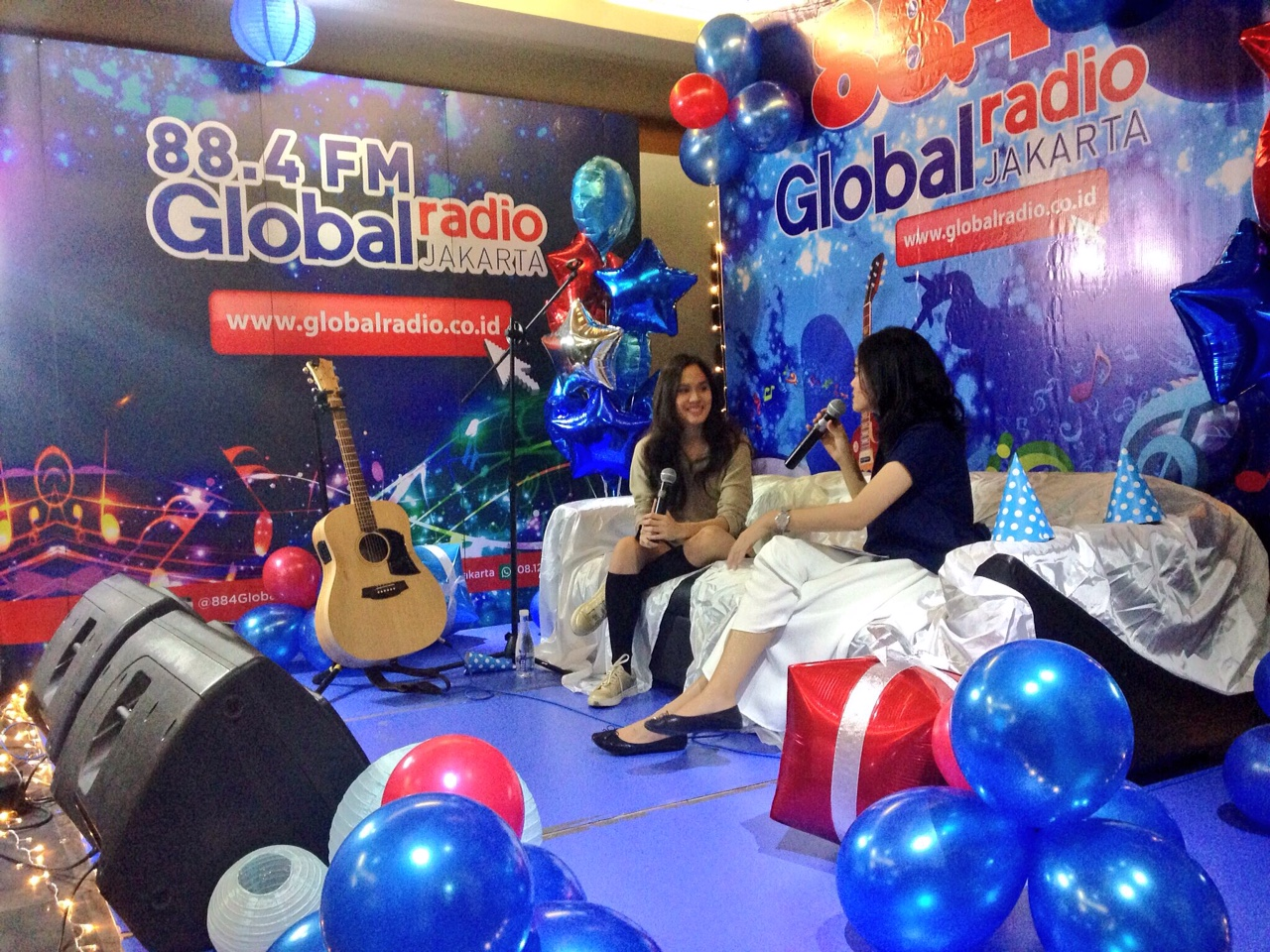 suasana Mini Stage #GlobalRadio11