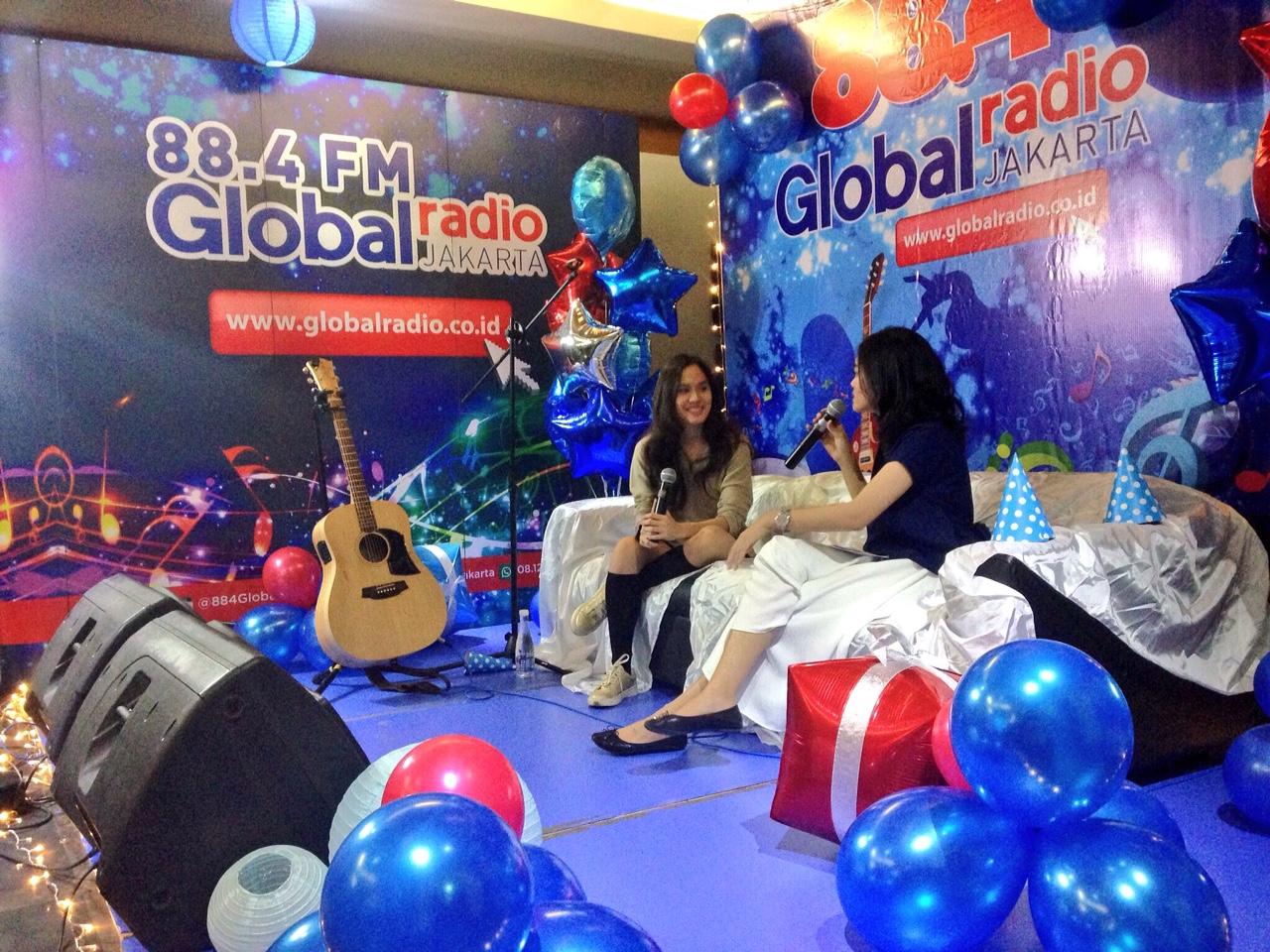suasana Mini Stage #GlobalRadio11