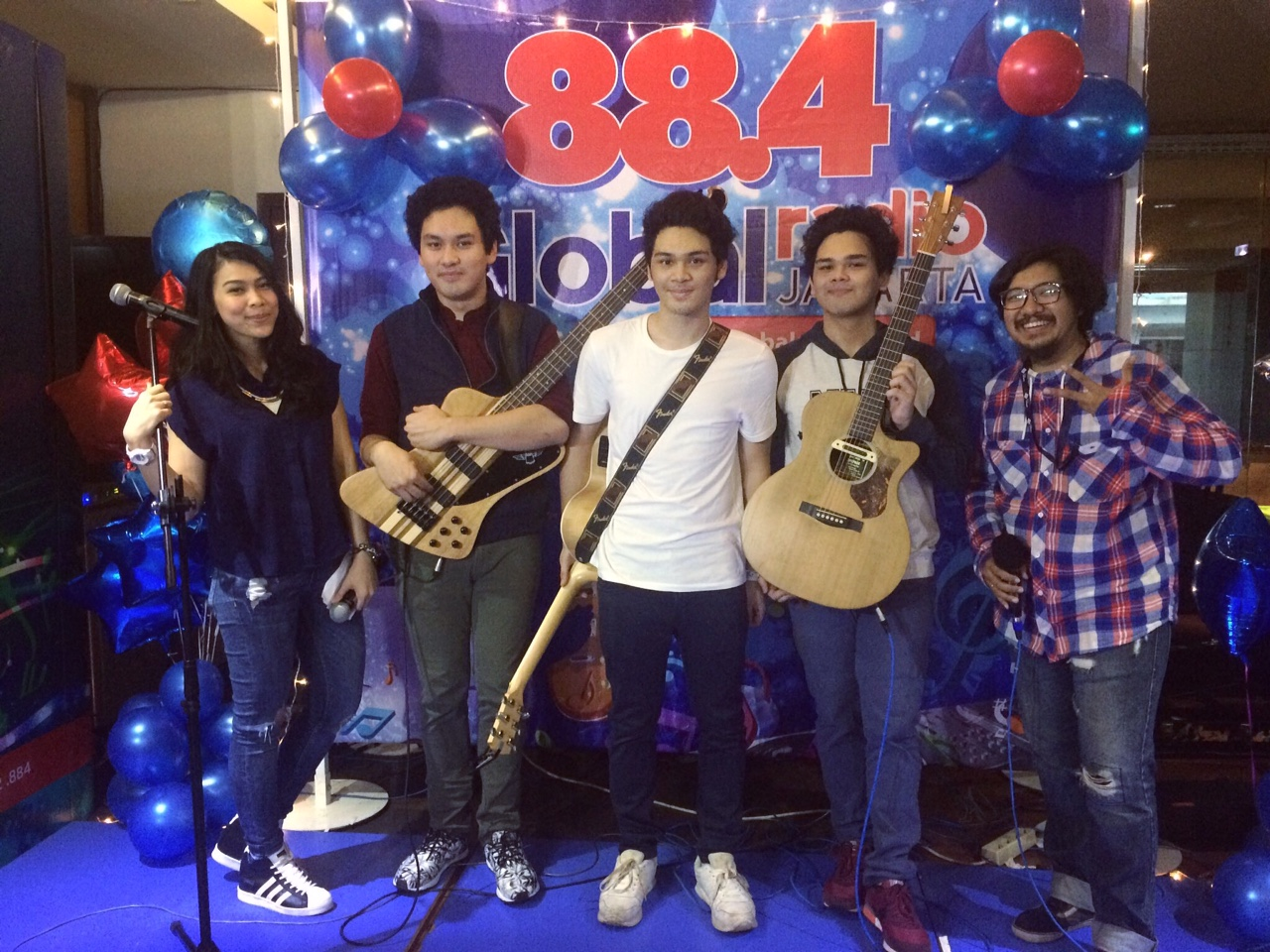 The Overtunes di #GlobalRadio11