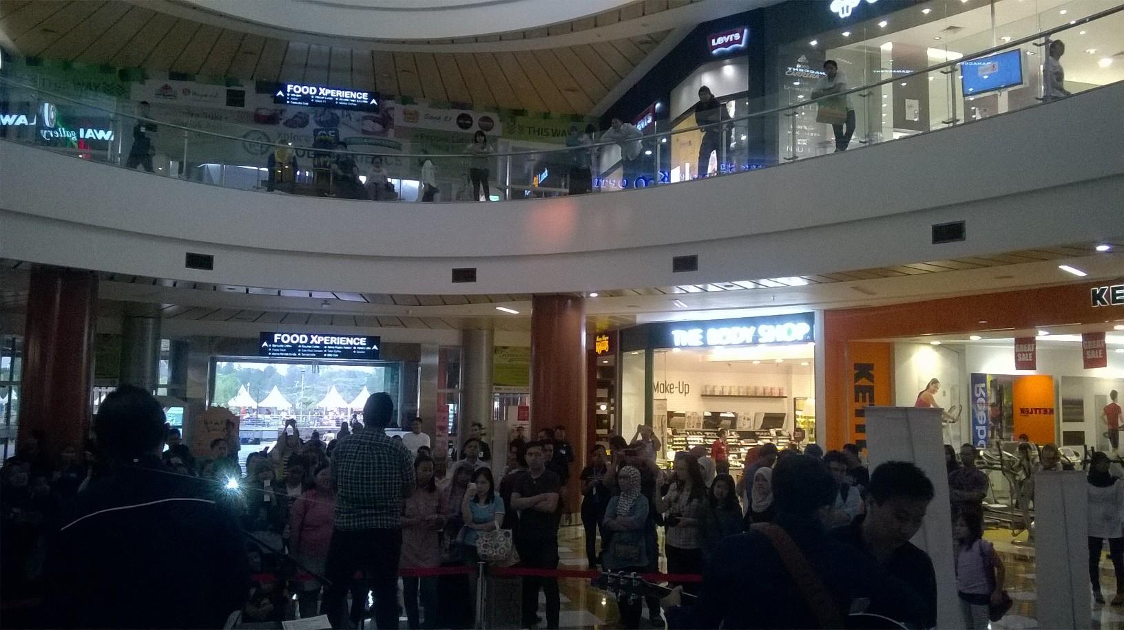 Penonton di ENCORE Spesial Ramadhan