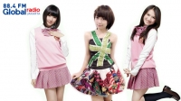 Melody, Yona dan Dhike greetings 88.4 FM Global Radio